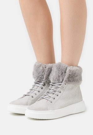 Sneakers hoog - light grey