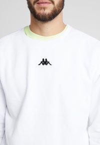 Kappa - VESLANN - Sweatshirt - bright white - 5