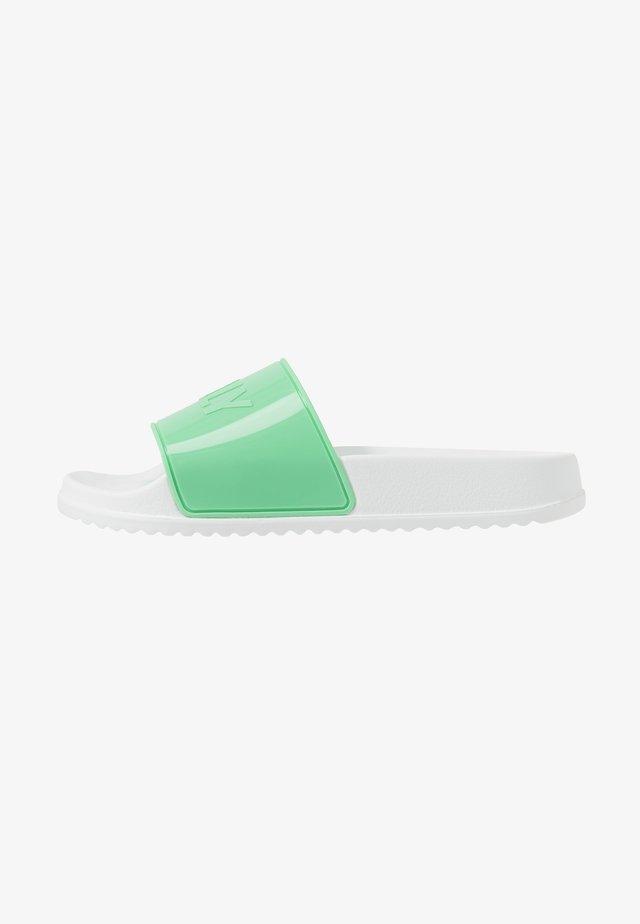 OPAL - Sandales de bain - neon mint