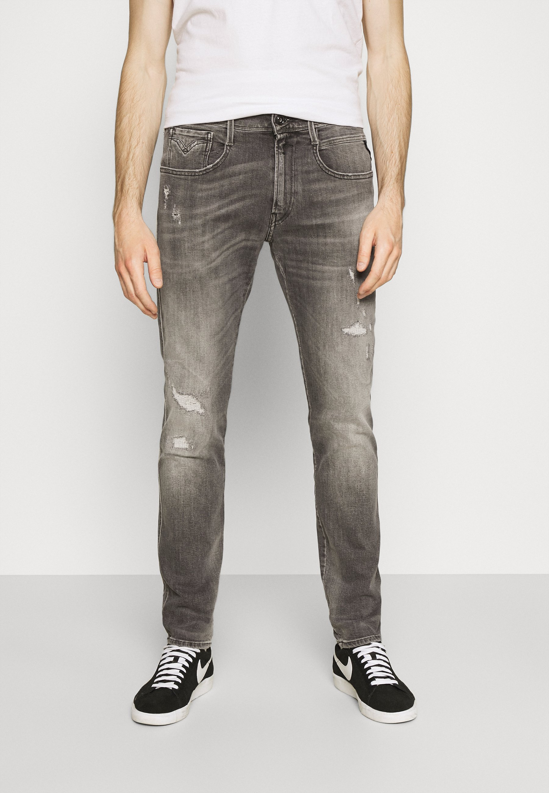Men ANBASS AGED - Slim fit jeans