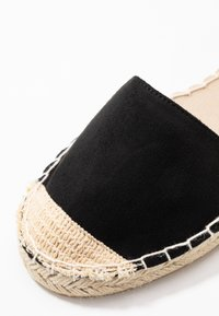 New Look Wide Fit - WIDE FIT MAJESTY - Espadryle - black - 5