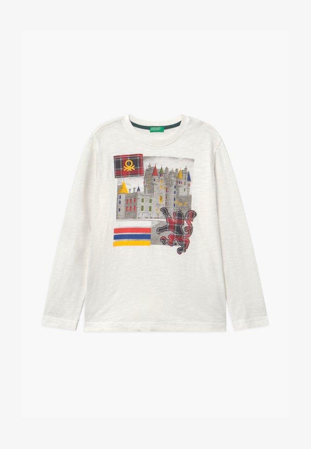 HARRY ROCKER - T-shirt à manches longues - white