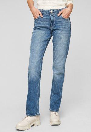 Slim fit jeans - dark blue stretche
