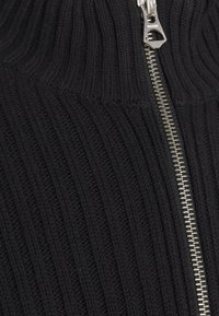 Weekday - LOGAN ZIP CARDIGAN - Cardigan - black - 2