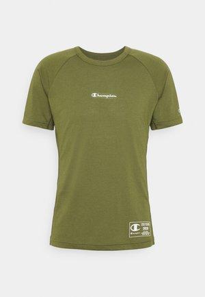 CREWNECK - T-shirt imprimé - khaki