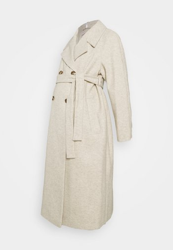 DOUBLE BREASTED FASHION WRAP COAT