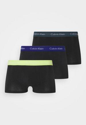 LOW RISE TRUNK 3 PACK - Pants - hemisphere/direct green/blue