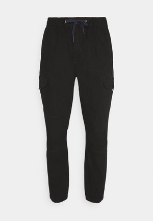 JOGGER - Cargo trousers - black