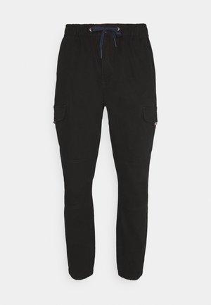 JOGGER - Pantalon cargo - black