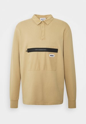 JONAH RUGBY SWEATSHIRT SAGE - Bluza - beige