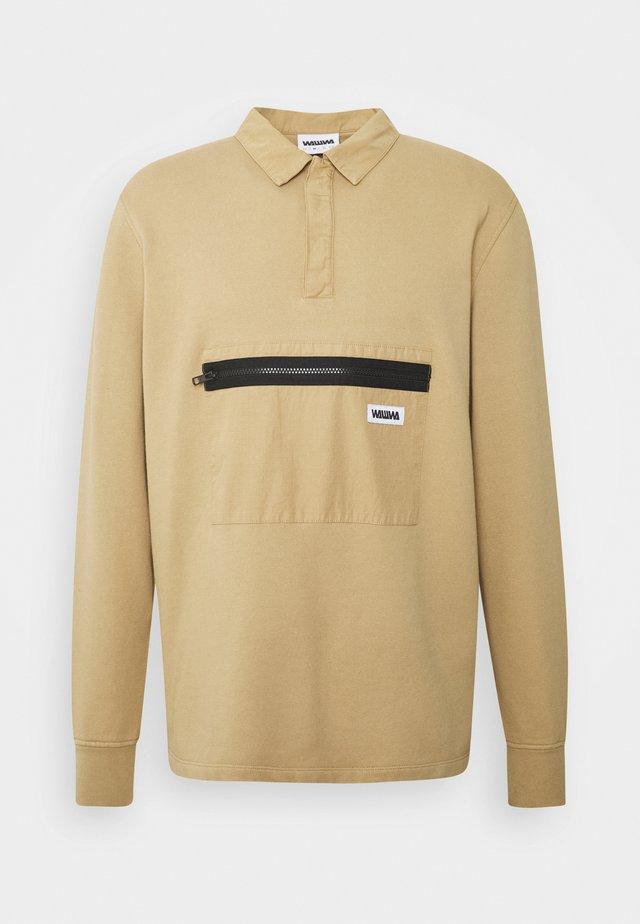 JONAH RUGBY SWEATSHIRT SAGE - Sweatshirt - beige
