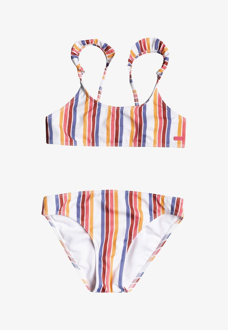 Roxy - SET - Bikini - bright white confi stripe