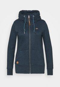 Ragwear Plus - NESKA ZIP - Zip-up sweatshirt - denim blue - 4