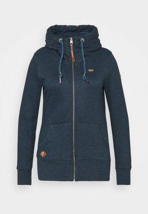 NESKA ZIP - Sweater met rits - denim blue