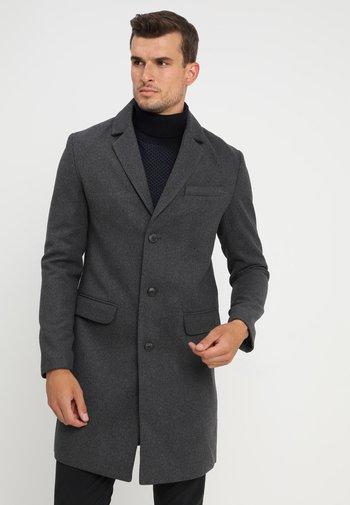 Klassisk kappa / rock - mottled grey