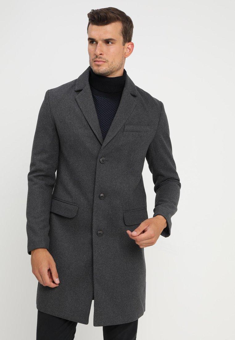 Pier One - Zimní kabát - mottled grey