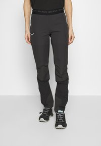 Salewa - AGNER LIGHT ENGINEER - Trousers - black out - 0