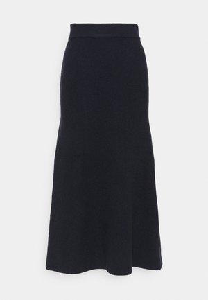 SKIRT - Maxi skirt - slate blue