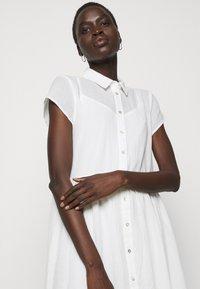 Bruuns Bazaar - KATHIS DRESS - Shirt dress - snow white - 3