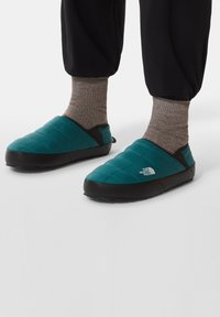 The North Face - Hiking shoes - shaded spruce/tnf black - 0