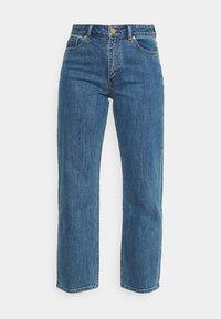 KASEY - Straight leg jeans - denim blue