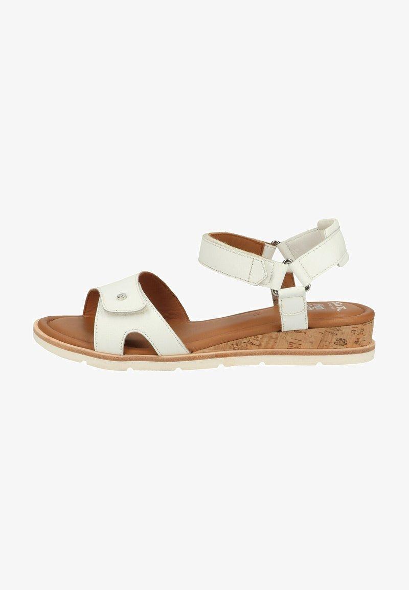 ara - Sandaletter med kilklack - weiss