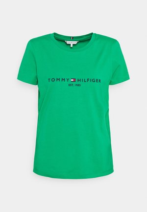REGULAR TEE - Camiseta estampada - primary green