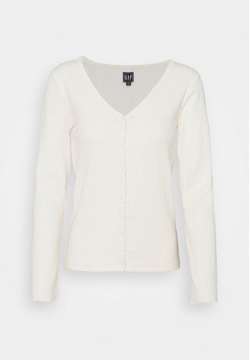GAP Petite - CARDI - Cardigan - antique white