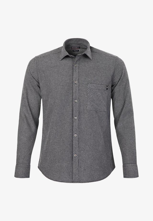 Overhemd - black-grey