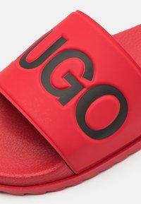 HUGO - MATCH - Mules - dark red - 5