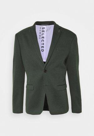 SLHSLIM COLE - Blazer jacket - dark green