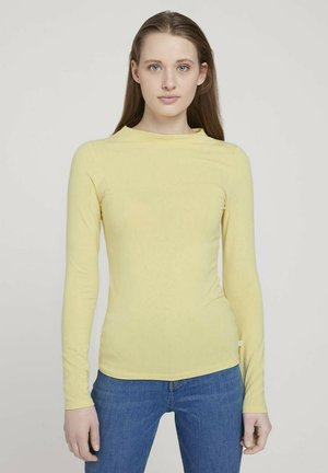 T-shirt à manches longues - soft yellow
