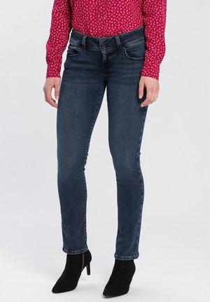 LOIE - Straight leg jeans - blue-black
