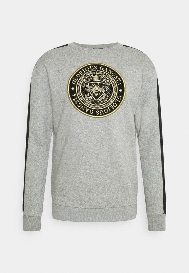 BERTO CREW - Sweatshirt - grey