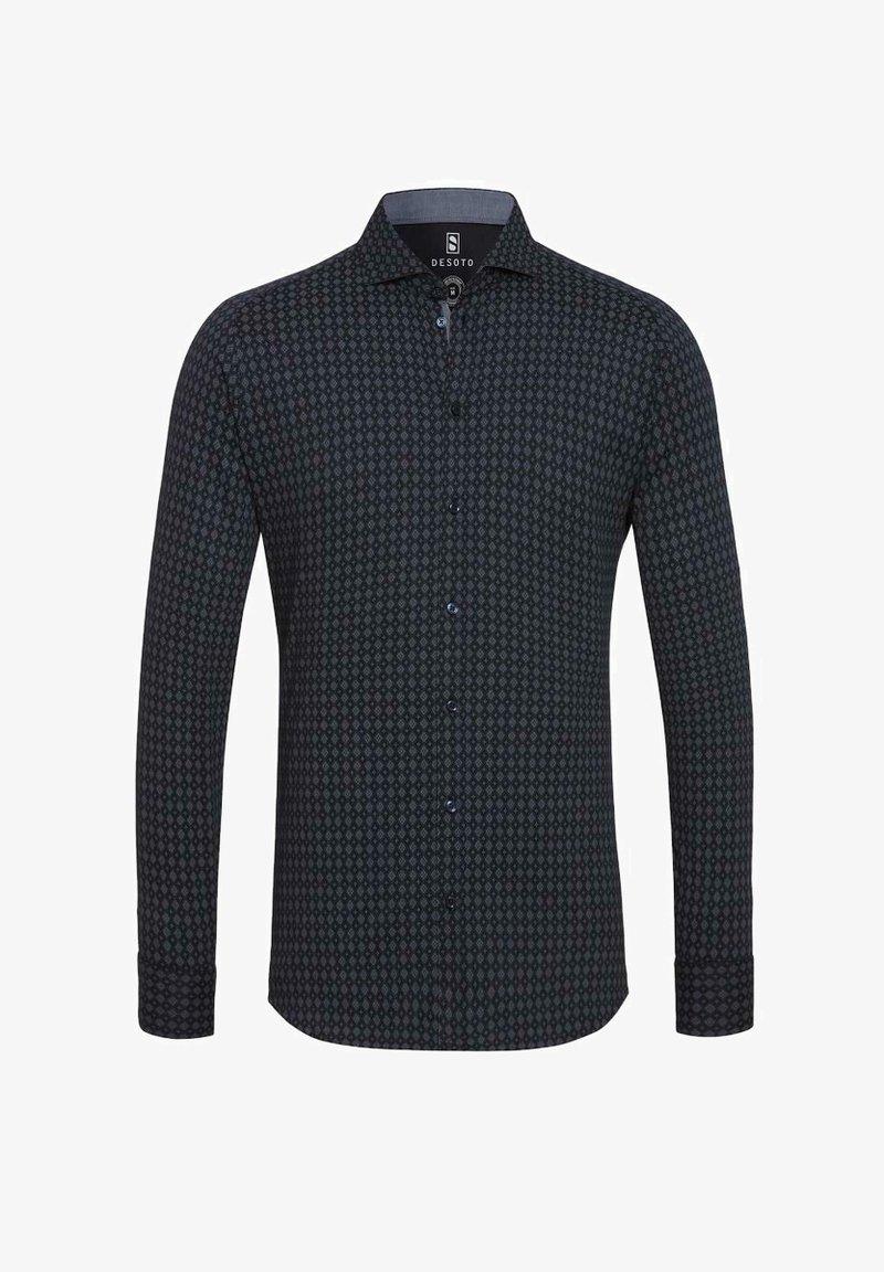 DESOTO - NEW HAI - Formal shirt - navy squares