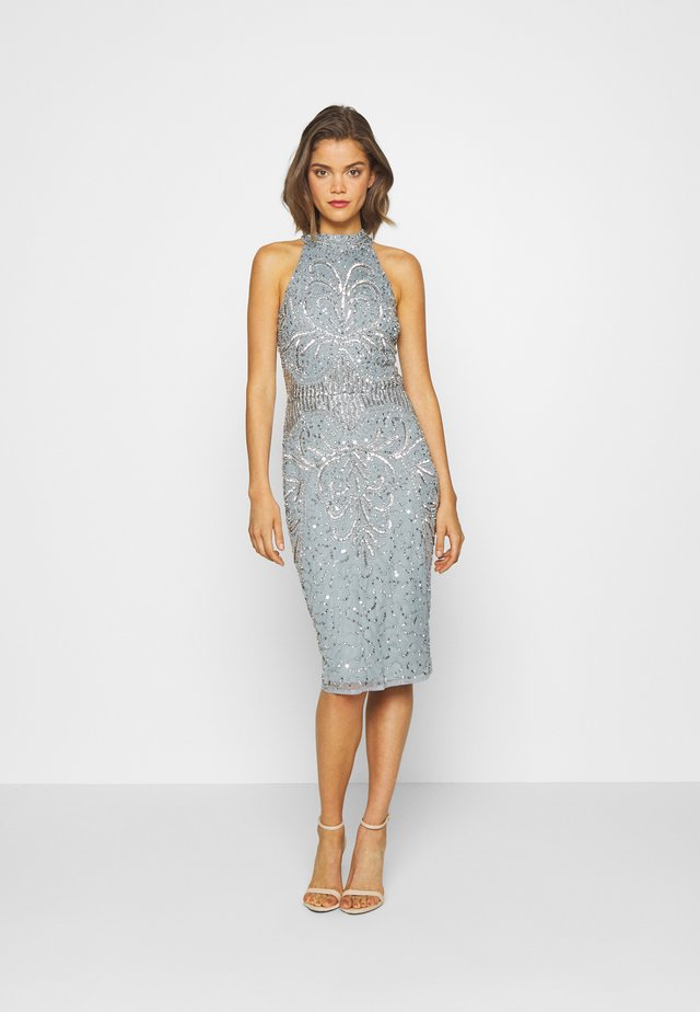 GLOSSIE - Cocktail dress / Party dress - blue grey