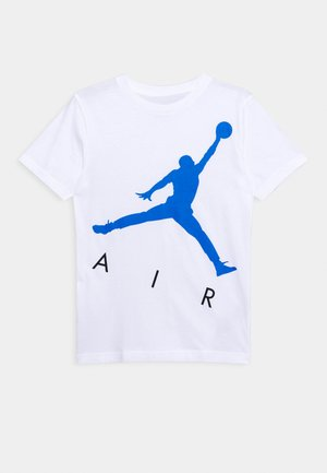 JUMPING BIG AIR UNISEX - Camiseta estampada - white