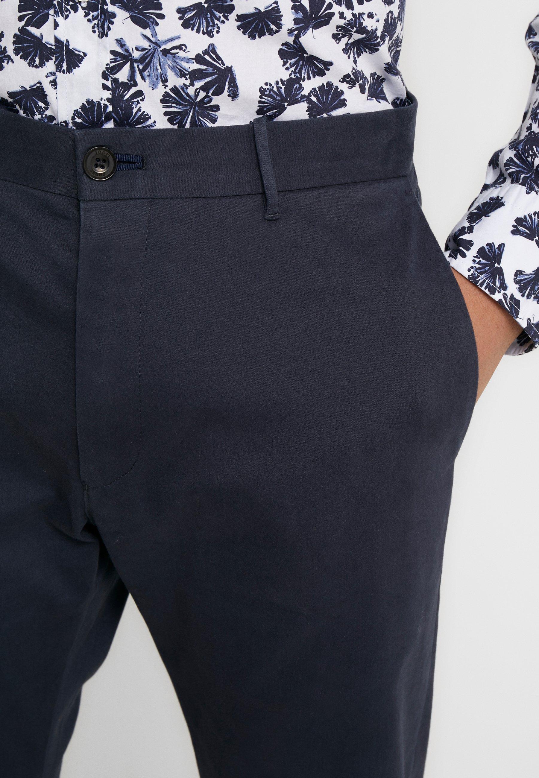 Joop! Jeans Stehen - Chinosy Navy
