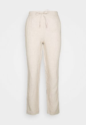 Trousers - taupe mela