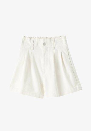 HOHEM BUND - Short en jean - beige