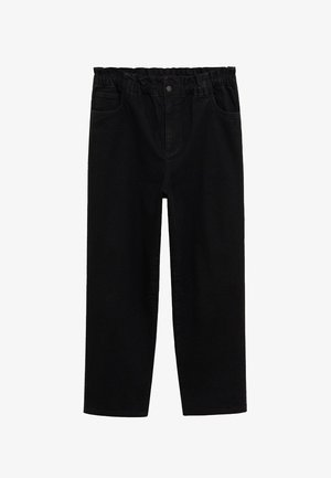 PAPERBAG - Jeans relaxed fit - black denim