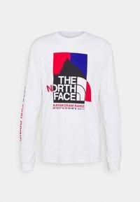 The North Face - KARAKORAM GRAPHIC TEE - Top sdlouhým rukávem - white - 0