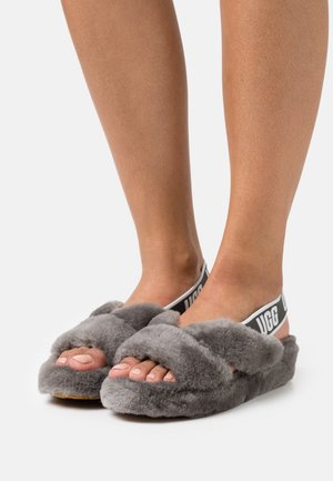 FAB YEAH - Slippers - charcoal