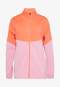 Under Armour - UA WINDSTRIKE FULL ZIP - Regnjakke / vandafvisende jakker - beta/lipstick - 4