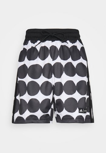 MARIMEKKO KNIT SHORT - Sports shorts - white/black