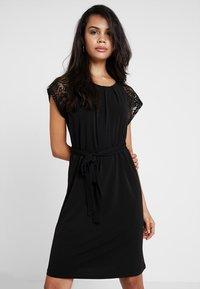 Vero Moda - VMALBERTA DRESS - Jersey dress - black - 0