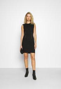 Guess - YSABEL DRESS - Jersey dress - jet black - 1