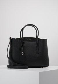 kate spade new york - MARGAUX LARGE SATCHEL - Across body bag - black - 0
