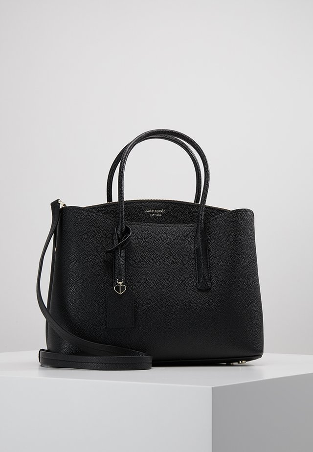 MARGAUX LARGE SATCHEL - Skulderveske - black