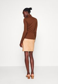 Selected Femme Tall - SLFCOSTA ROLLNECK TALL - Jumper - smoked - 2